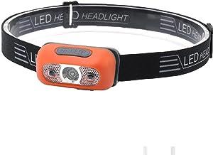 Usb Oplaadbare Led-koplamp Motion Sensor Inductie Zaklamp Headlight Voor Het Uitvoeren Van Vissen Camping Hiking Fiets Eme...