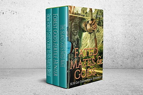 Fated Mates & Gods: M/M Fated Fantasy Mates Collection (J.B. Black's M/M Fantasy Box Sets) (English Edition)