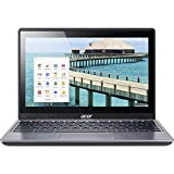 Acer C720p-2625 11.6in Touchscreen ChromeBook Intel Celeron 2955U Dual-core 1.40 GHz 4 GB RAM, 16 GB SSD,...