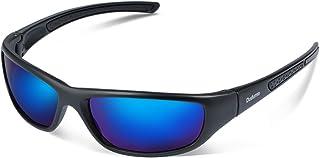Duduma Polarized Sports Sunglasses for Men Women Baseball Running Cycling Fishing Driving Golf Softball Hiking Sun