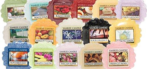YANKEE CANDLE®–Set di 5Candele profumate in Cera Senza stoppini–Vari Profumi