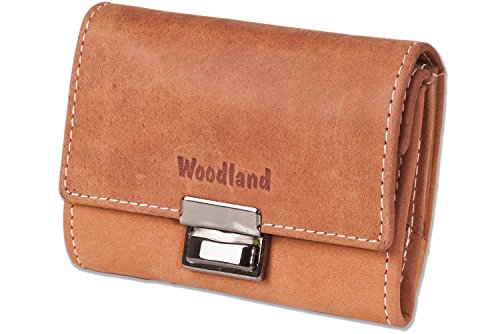 Woodland - Original Mini taxi cambio in pelle di bufalo naturale in Cognac