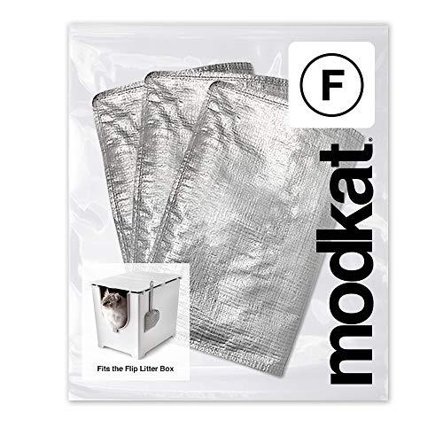 Modkat Flip Katzentoilettenauskleidung (Type F) - 3 Pack