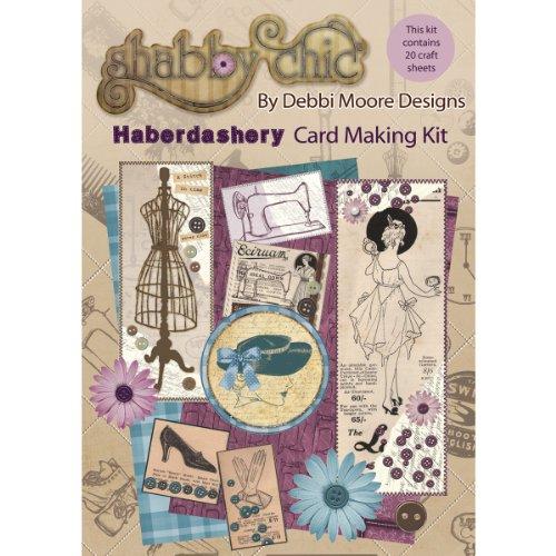 Debbi Moore Designs Shabby Chic Carte Kit mercerie
