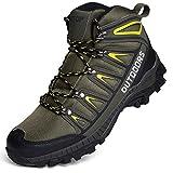 Scarpe da Trekking Uomo Scarpe da Escursionismo traspirante Outdoor Resistente all'Acqua Antiscivolo Stivali Trekking e Passeggiate All'aperto Sneaker
