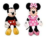 Disney Jumbo 48' Plush Mickey and Minnie Mouse Doll Bundle