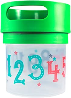 Munchie Mug Snack Cup 12 Oz Green