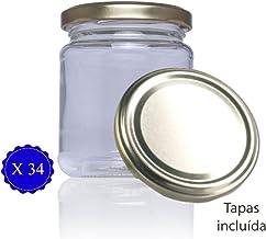Tarro de cristal con tapa incluida de cocina para conservas