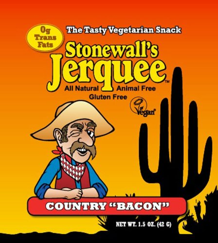 Stonewall's Jerquee, Country Bacon, 1.5-Ounce (Pack of 8)