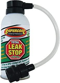TSI Supercool 39241B-YF Total Leak Stop and U/V Dye, 1 oz (HFC Free BOV Can with 1234yf Adapter, Retail Box)