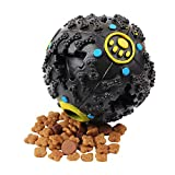 shine-hearty Dog Toys Food Ball Toy for Dogs Pet Food Dispenser Outdoor Easy Carry Training Puppy Hard Dog Toys,Dog Toys,S