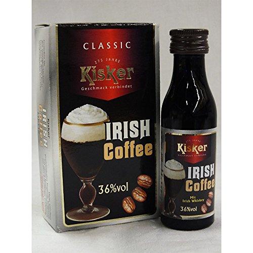 Original Irish Coffee mit Irish Whiskey 2x40ml