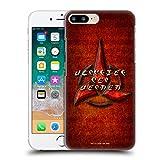 Head Case Designs Officiel Star Trek Discovery Klingon en Look Affligé Insignes Coque Dure pour...