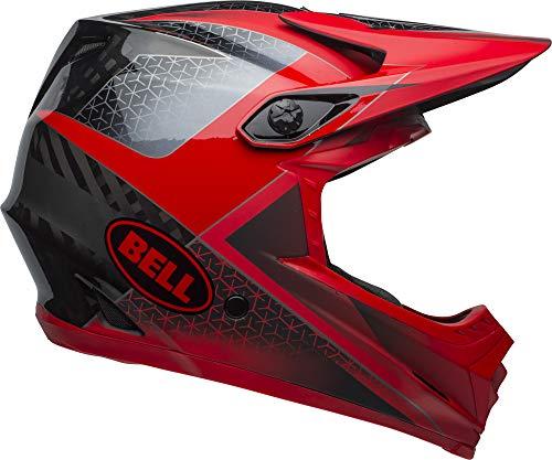BELL Full-9 Adult Mountain Bike Helmet - Hound Matte/Gloss Crimson/Black/White (2019), X-Large/XX-Large (59-63 cm)
