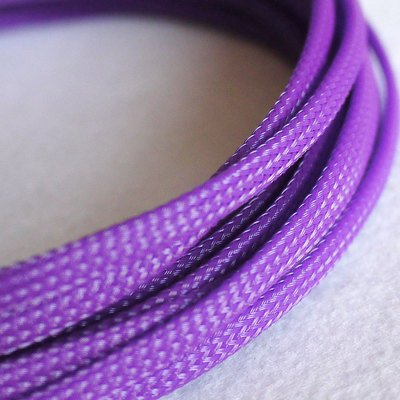 10 m 4 mm geflochten sleeven Pet Mesh erweiterbar Gartenschlauch Flexable Paracord Draht sleeving-purple