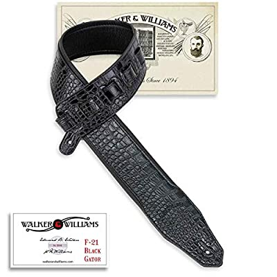 Extra Wide Black Padded Gator Strap