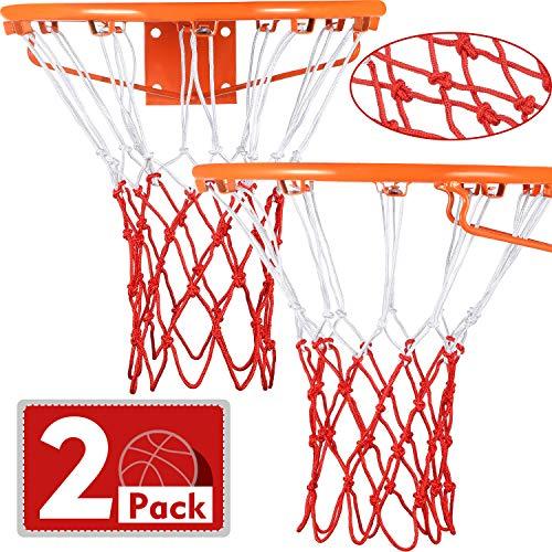 Syhood, Rete di Ricambio per canestro da Basket, per Quasi Tutte Le Condizioni atmosferiche, Adatta per canestro da Basket Standard da Interno o Ester