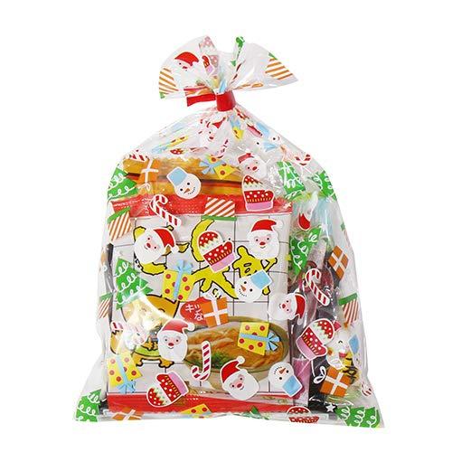 クリスマス袋 180円 お菓子袋詰めおつまみ 詰め合わせ 駄菓子 袋詰め おかしのマーチ