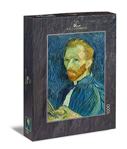 Ulmer Puzzleschmiede - Puzzle Van Gogh Self-Portrait - Puzzle 1000 Pezzi - Autoritratto del Famoso Pittore