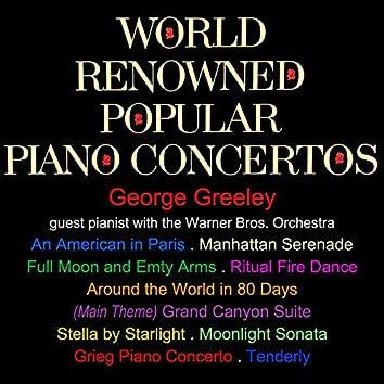 World Renowned Popular Piano Concertos