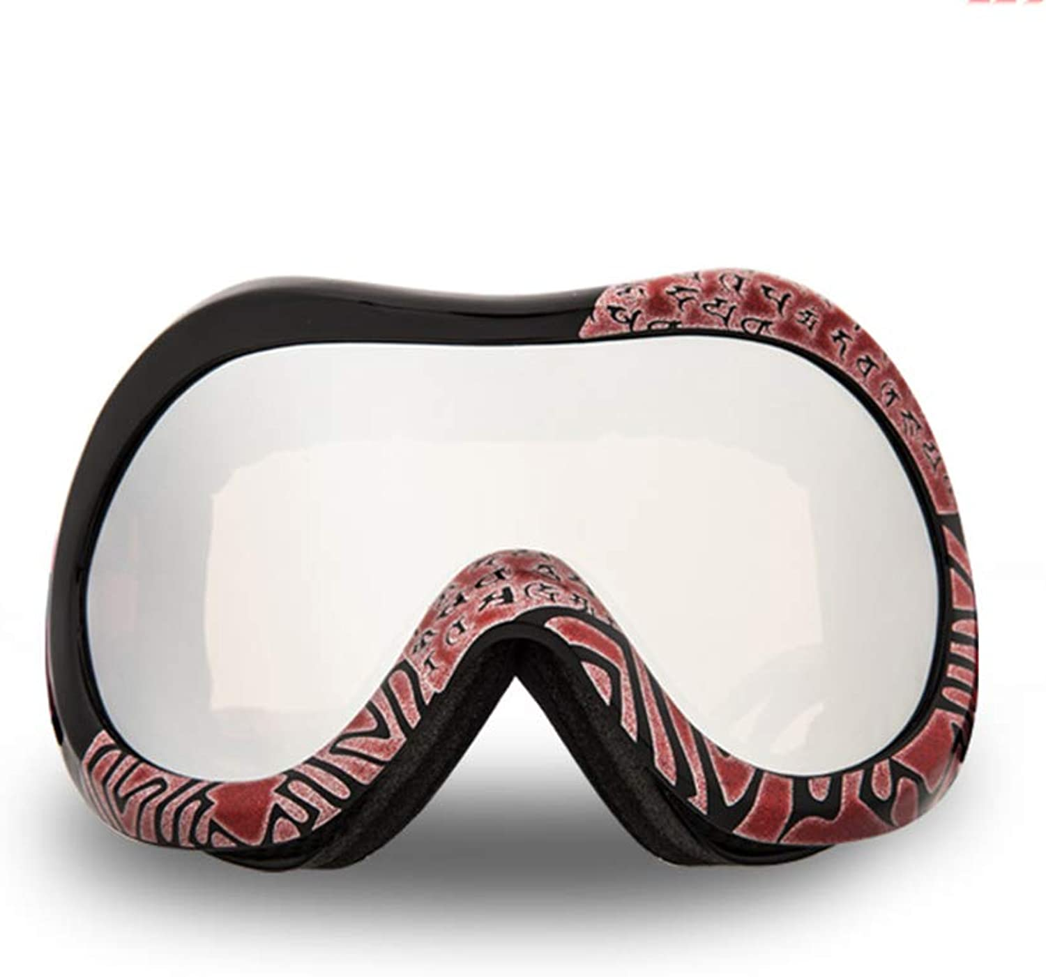 Double Anti-Fog Ski Goggles Outdoor Sports Goggles for Men and Women