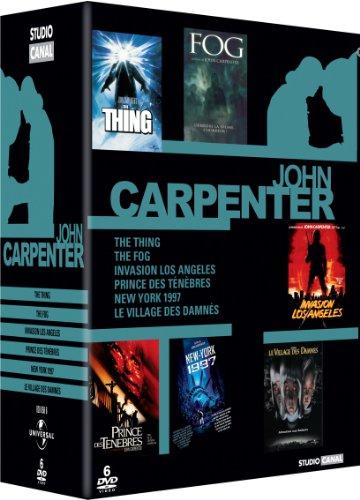 John Carpenter-Coffret-Fog + Invasion Los Angeles + New York 1997 + Prince des Ténèbres + The Thing + Le villlage des damnés