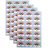84 Rainbow Stickers by Tri-coastal Design