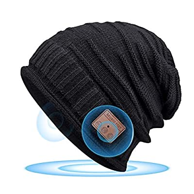 Bluetooth Beanie for Men, Bluetooth 5.0,Mens Gifts, Women Mens Beanie Hats with Bluetooth Headphones,for Outdoor Sports, Skiing,Running,Skating,Christmas Birthday Gifts for Men Women,Fashion & Comfort from EverPlus