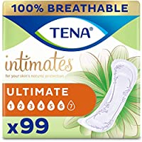 TENA Incontinence Pads for Women, Ultimate, 33 Count by TENA
