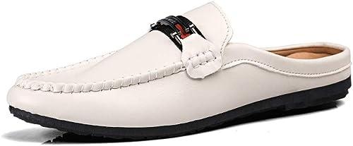 ZSJ-XXX Nouvelles Chaussures de Sport pour Hommes Mode for Hommes Hommes d'été - Sabots - Dos - Chaussures à Lacets perméables à l'air - Léger Chaussures Décontracté à la Mode (Couleur   Beige, Taille   39 EU)  produits créatifs
