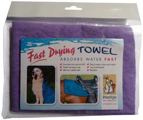 Prestige handdoek voor huisdieren, sneldrogend, Large, paars