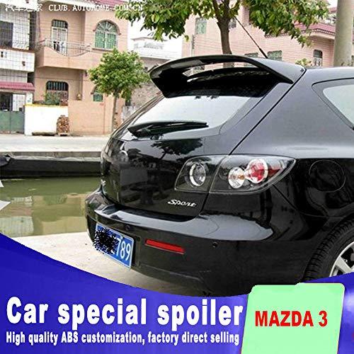 Großer Heckspoilerdeckel Aero Wing Spoiler mit Licht für Mazda 3 Sport of Punching Einbau-Spoiler