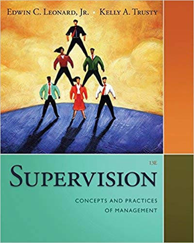 [1285866371] [9781285866376] Supervision: Concepts and Practices of Management (MindTap Course List) 13th Edition - Paperback