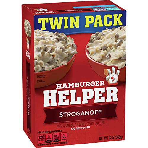 2-Pack Hamburger Helper Stroganoff Pasta & Creamy Sauce Mix  $1.88 at Amazon