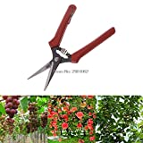 Manual Gastos de envío gratis de acero al carbono cabeza de jardinería Tijeras que cortan el Poder Shears Bypass Pruner AP16