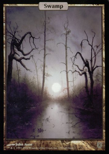 Magic the Gathering: Swamp (138) (Foil) - Unhinged