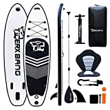 Tigerxbang SUP Board 10'6' Stand Up Paddle Board | 320x77x15cm | for Adults/Kids| ISUP Surfing Complete Kit