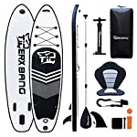 """TIGERXBANG Sup Board 10'6"""" Stand Up Paddle Board   320x80x15cm   for Adults/Kids  Complete Surfing Kit"""