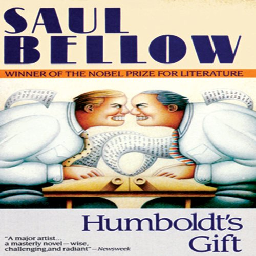 Humboldt's Gift audiobook cover art