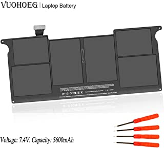 A1495 A1406 New Laptop Battery Replacement for MacBook Air 11 Inch A1465 A1370 (Mid 2011 2012 2013 Early 2014 2015 Version); MC968 MD223 MD711 020-7376-A 020-7377-A
