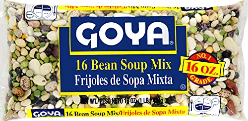 Goya Foods Soup Mix, bean, 1 Pound (Pack of 24)