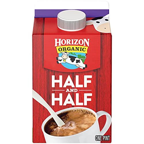 Horizon Organic, Half & Half, Ultra Pasteurized, Pint, 16 oz