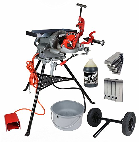 Toledo Pipe 300 15682 Complete Pipe Threading Machine, 38 RPM, Aftermarket 811A fits RIDGID 300 T2 418 with Accessory Kit