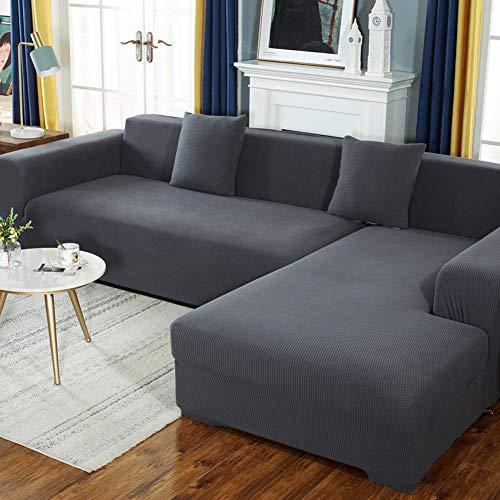 CAREXY Sofaüberzug Stretch, Set für 1-4 Sitzer Sofa Multifunktion Sofabezug Stretch für Wohnzimmer Terrasse Schlafzimmer,C,3seater