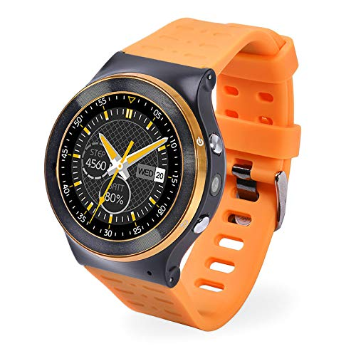 ZGPAX S99 GSM 3G Quad-Core-Android 5.1 Smart Watch mit 5,0 MP-Kamera GPS WiFi V4.0 Pedometer Herzfrequenz