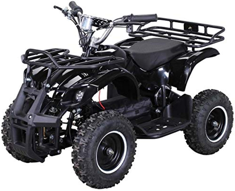 las mejores marcas venden barato Niños Electro Miniquad Torino 800 Vatios - Negro Negro Negro  respuestas rápidas