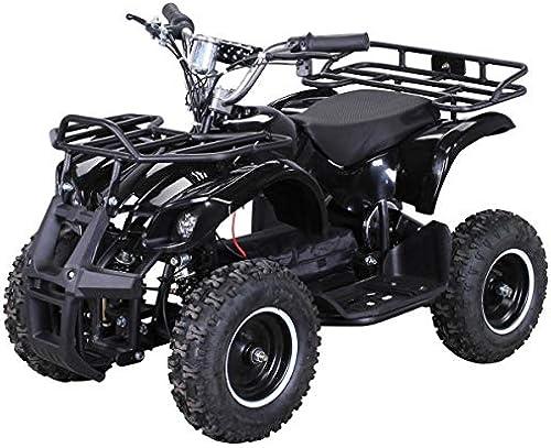 Venta en línea precio bajo descuento Niños Niños Niños Electro Miniquad Torino 800 Vatios - negro  los últimos modelos
