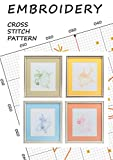 Tooth fairy silhouettes Love cross stitch pattern book embroidery fairy wall decorations Disney fairies wall decor counted cross stitch Ballet fairy Magic ... fairy cross stitch (English Edition)