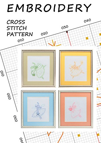 Tooth fairy silhouettes Love cross stitch pattern book embroidery fairy wall decorations Disney...