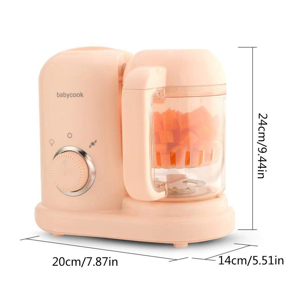tingtin Bebé Mini triturador de Alimentos Multifuncional, Robot de Cocina Mezclador Carne triturador Bebe Alimentos Maker: Amazon.es